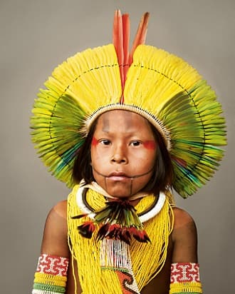 Kayapo Tribe Boy